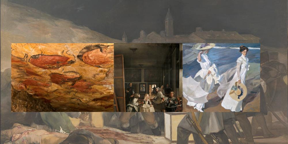 Künstlerische Zeiten in Spanien (einfach)