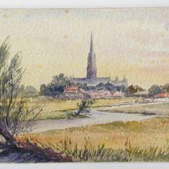 Vista de Salisbury, Inglaterra