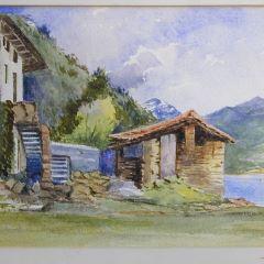 Molino de Santa María della Pace, Lago Como (Italia)