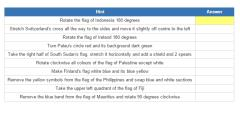 Flags of world sovereign countries 2 (JetPunk)