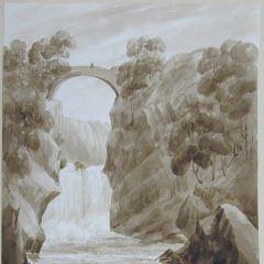 Cascadas superiores del río Foyers (Escocia)