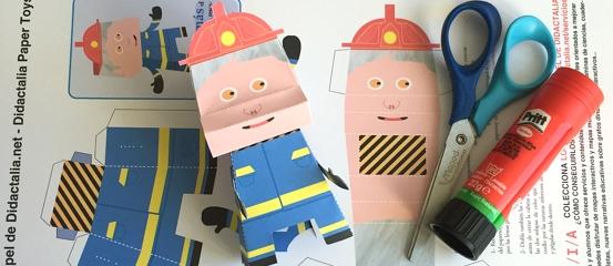 Tomás, el bombero