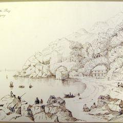 La bahía de Babbacombe, cerca de Torquay (Inglaterra)