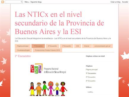 Educacion Sexual integral y las TIC
