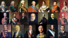 Jefes de estado de España ¿Cuándo ocurrió?