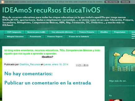IDEAmoS recuRsos EducaTivOS