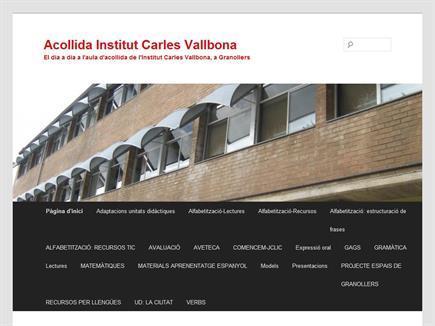 Acollida Institut Carles Vallbona
