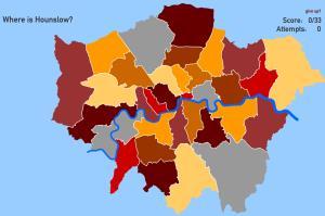 London boroughs. Toporopa