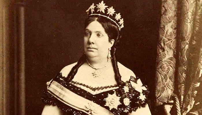 Isabel II de España (fácil)