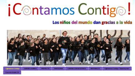 """¡C@ntamos Contigo! """"Los niños del mundo dan gracias a la vida"""""""