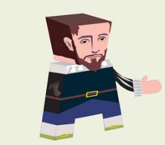 Miguel de Cervantes y el ilustre Don Quijote de La Mancha
