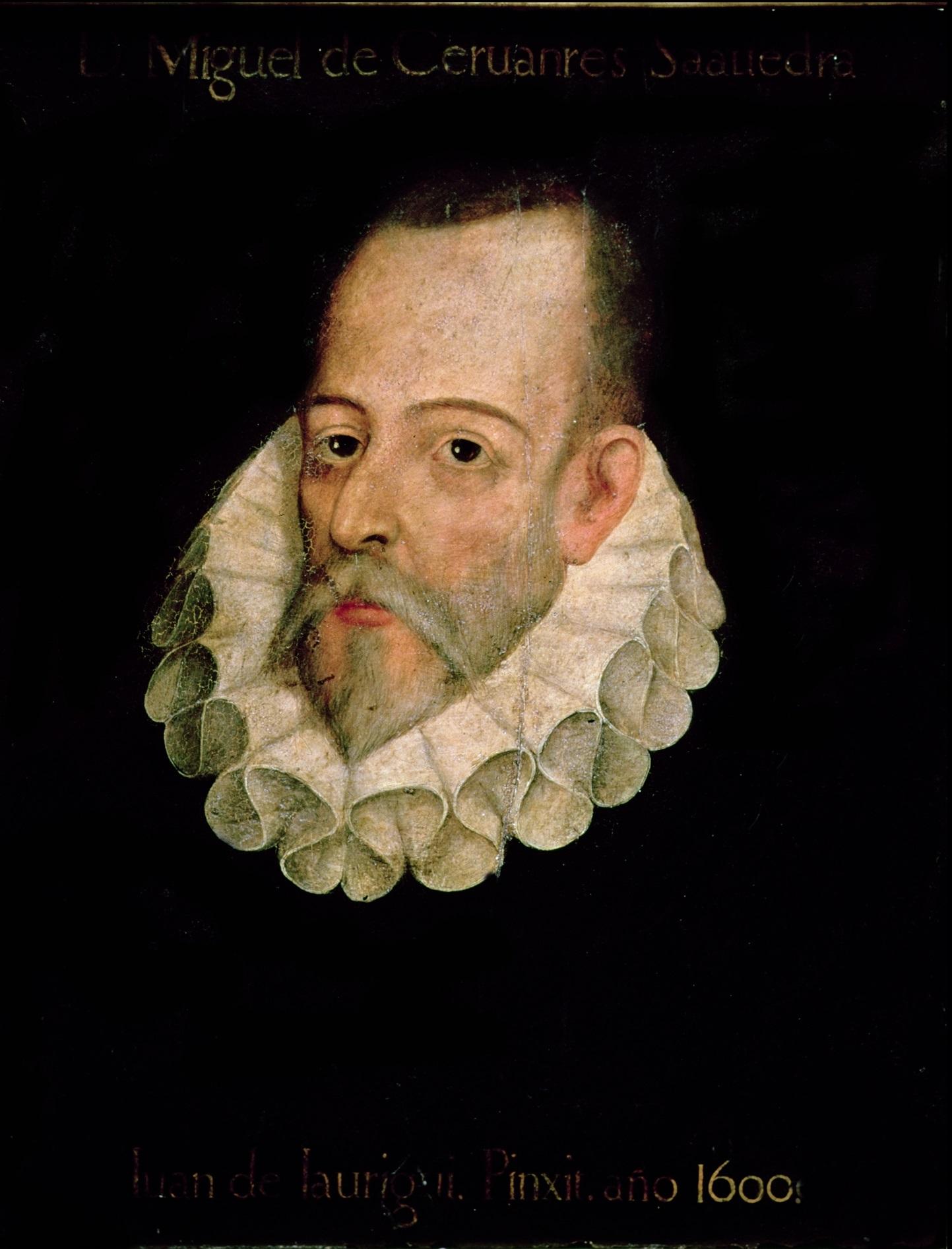 Retrato no oficial de Cervantes, Juan de Jáuregui