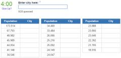 Biggest cities in Mississippi (JetPunk)