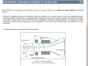 Instrumentos y aparatos de medida: El osciloscopio