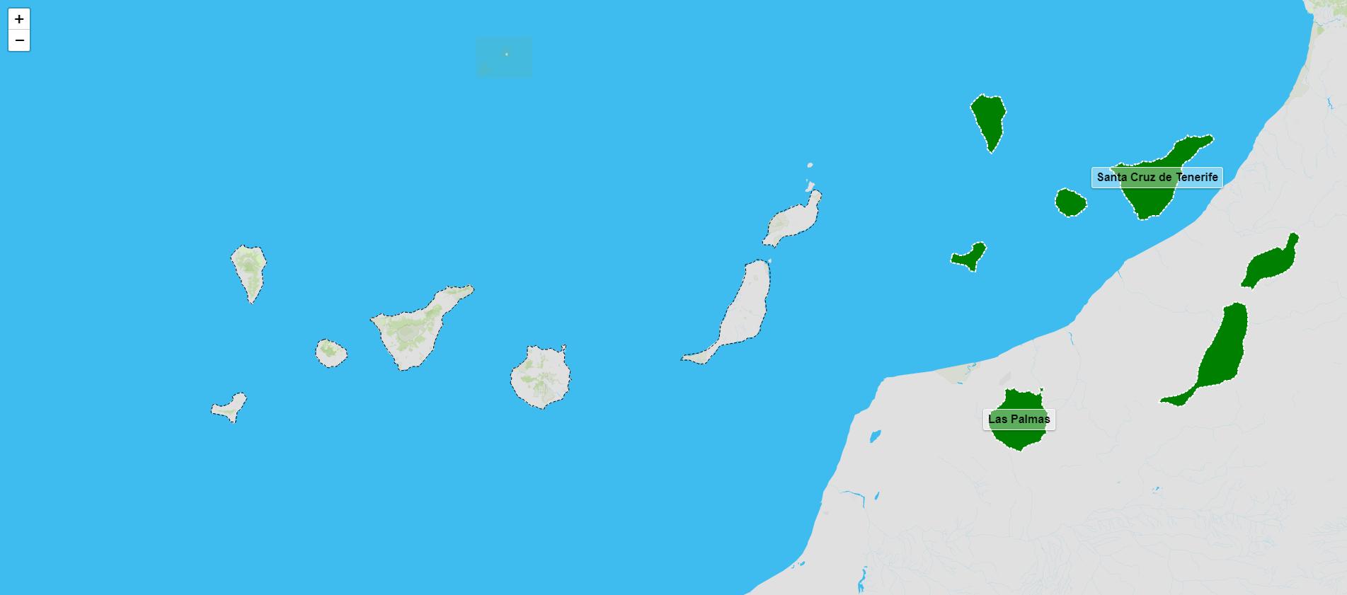 Provincias das Illas Canarias