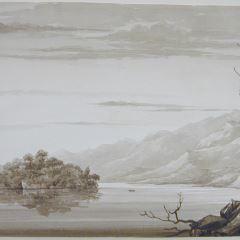 Vista del lago Fyne (Escocia)