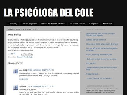 La psicóloga del cole