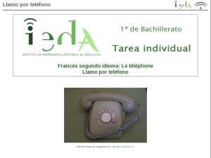 Llamo por teléfono