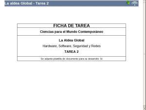La aldea global - Tarea 2