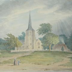 Iglesia de Chislehurst, Londres (Inglaterra)