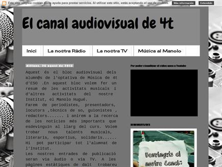 Elcanal audiovisual de 4t
