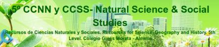 5º CCNN 6 CCSS - Science 5th Grade