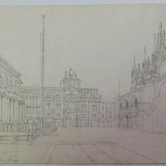 Vista de la plaza de San Marcos de Venecia