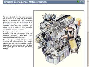 Principios de máquinas: Motores térmicos