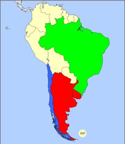 Países de Sudamérica (JetPunk)
