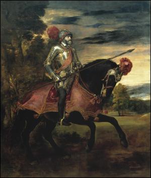 Carlos V en la Batalla de Mühlberg (Tiziano) y el comienzo de un conflicto religioso