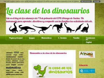 La clase de los dinosaurios