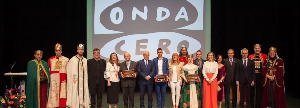 Garnica galardonada con los Premios Onda Cero 2018