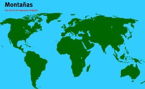 Montañas del Mundo. Juegos de Geografía