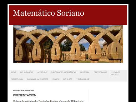 Matemático Soriano