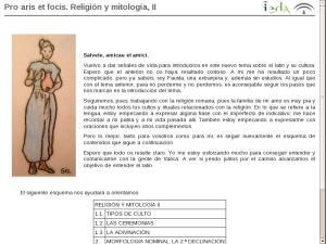 El origen del Latín y sus características: Pro aris et focis. Religión y mitología, II