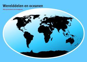 Werelddelen en oceanen. Topo VMBO