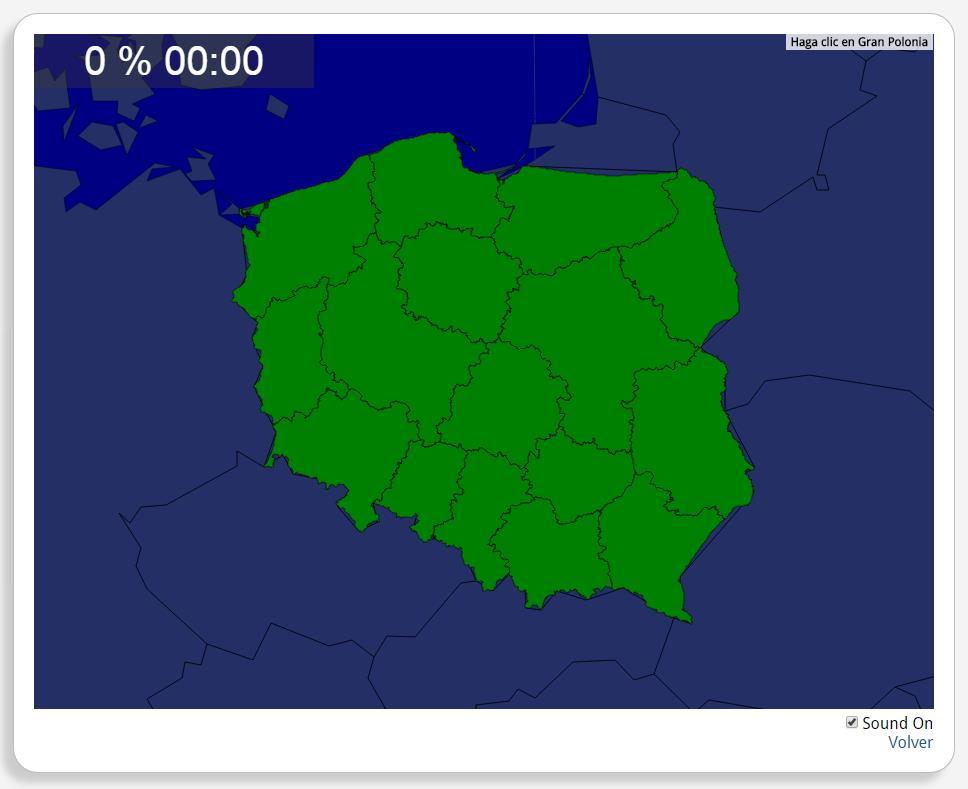 Polonia: Provincias. Seterra