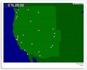 Etats-Unis : les villes de la côte ouest. Seterra