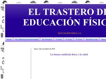 EL TRASTERO DE EDUCACIÓN FÍSICA