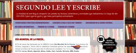 SEGUNDO LEE Y ESCRIBE