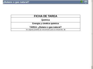¿Butano o gas natural?