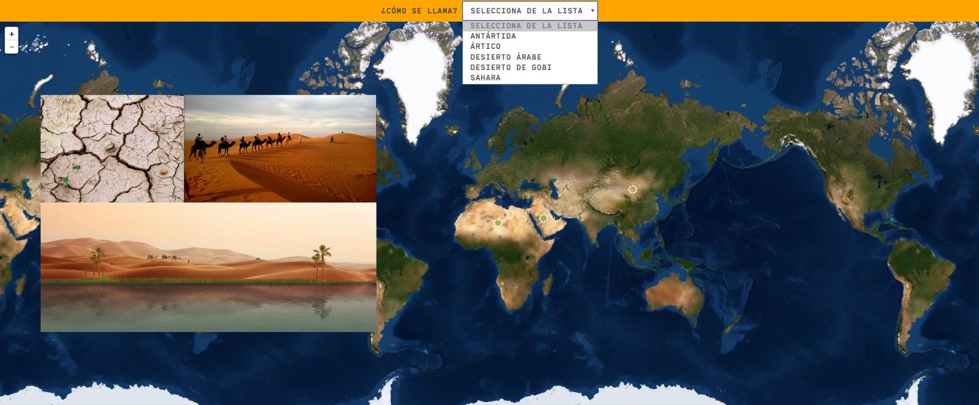 Wüsten der Welt - Leichtes Level