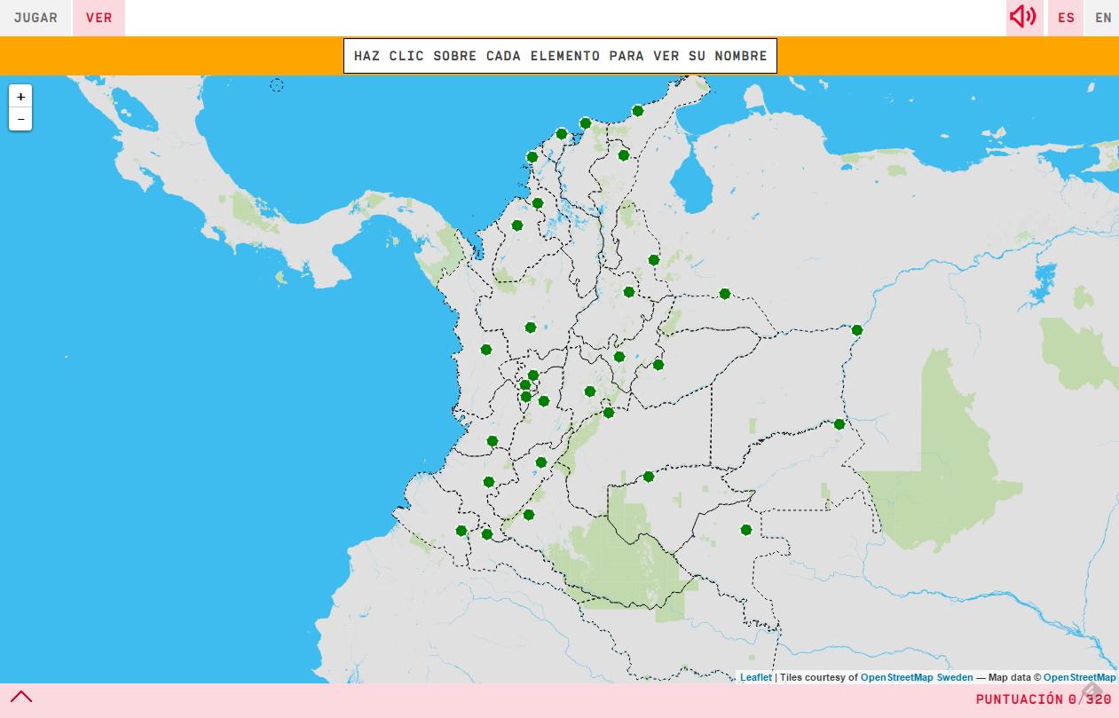 Capitales de departamentos de Colombia