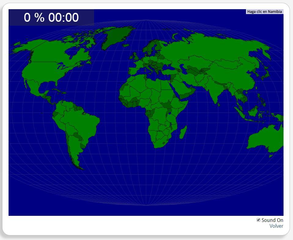Die Welt: große Länder. Seterra