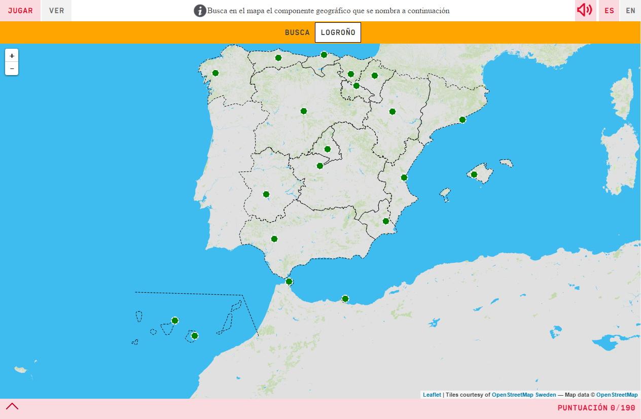 Hauptstädte der autonome Gemeinschaften