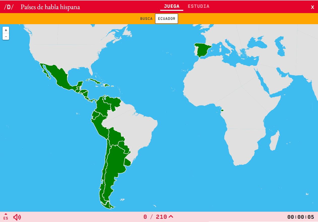 Países de lingua española