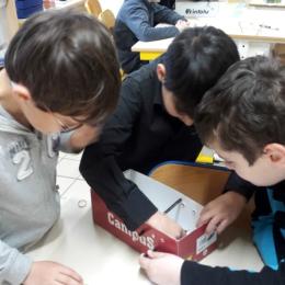 Partager la science avec de jeunes ingénieurs - Fabrication d'une catapulte