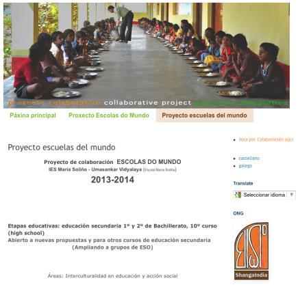Proyecto Escuelas del Mundo