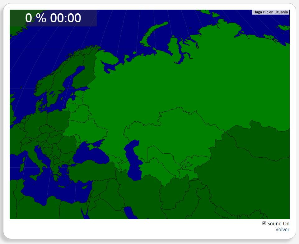 Antiga União Soviética: Países. Seterra