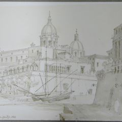 Vista de Catania (Italia)